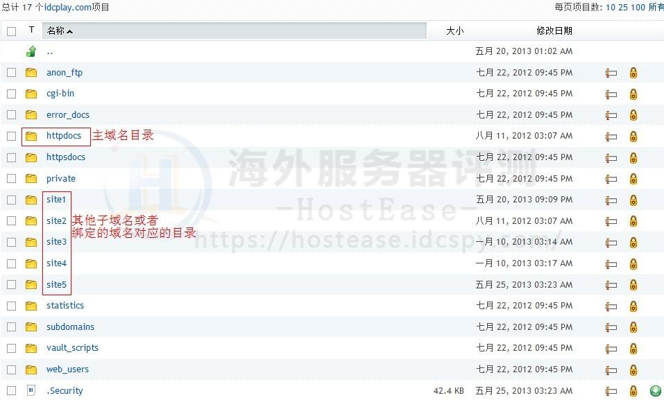 HostEase主机Plesk面板如何进入正确的域名目录